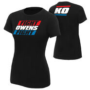 Kevin Owens Fight Owens Fight Limited Edition Womens T-Shirt