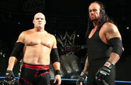 Taker smackdown with kane
