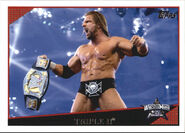 2009 WWE (Topps) Triple H 88