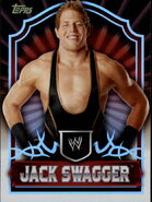 2011 Topps WWE Classic Wrestling Jack Swagger 26