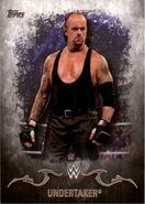 2016 Topps WWE Undisputed Wrestling Cards Undertaker 38
