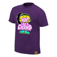 Bayley Hug Like A Champ Authentic T-Shirt