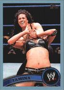 2011 WWE (Topps) Tamina 24