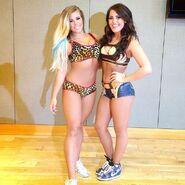 Barbi and Tessa