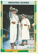 1995 WWF Wrestling Trading Cards (Merlin) Smoking Gunns 57