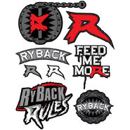 Ryback Decals