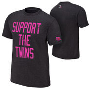 The Bellas Support The Twins Courage Conquer Cure T-Shirt