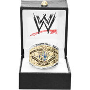 WWE White Intercontinental Championship Finger Ring