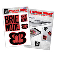 Brie Bella Vinyl Sticker Sheet