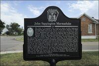 Marmaduke Historical Marker