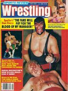 Sports Review Wrestling - April 1982