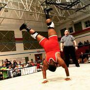 Timmy Lou Retton Handstand