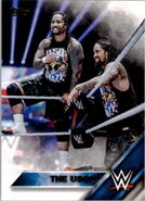 2016 WWE (Topps) The Usos 47
