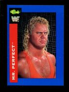1991 WWF Classic Superstars Cards Mr. Perfect 113