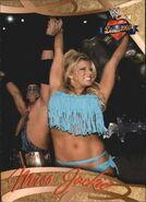 2004 WWE Divas 2005 (Fleer) Jackie Gayda 38