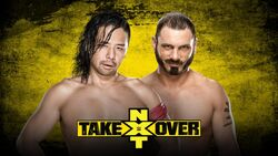NXT Revenge Nakamura v Aries