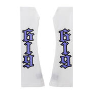 REY Mysterio WHITE PURPLE ARM SLEEVES