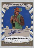 2016 Leaf Signature Series Wrestling The Godfather 81