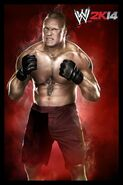 WWE2K14 Brock Lesnar current CL