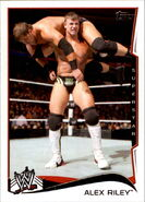 2014 WWE (Topps) Alex Riley 2