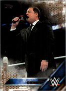 2016 WWE (Topps) Then, Now, Forever Tony Chimel 148