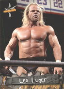 1999 WCW Embossed (Topps) Lex Luger 58