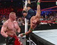 Brock vs cena