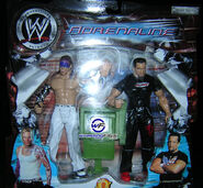 WWE Adrenaline Series 1 Jeff Hardy & Tommy Dreamer