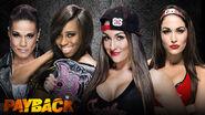 Payback 2015 - Naomi & Tamina vs. The Bella Twins