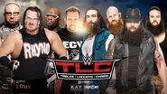 TLC 2015 8-Man Tag Team Match
