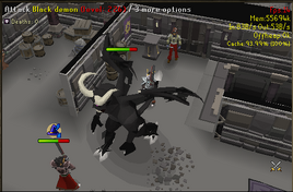 Black demon 'o' death