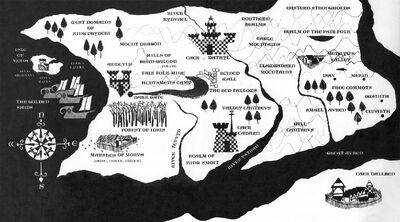 Prydain Map