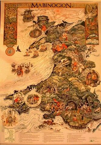 Mabinogion Map
