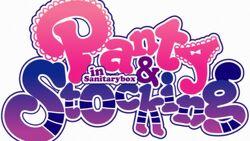 Panty and Stocking in SanitaryBox Logo