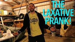 Laxative prank