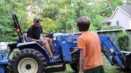 Psychodad on tractor 2