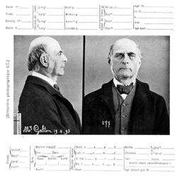 Galton at Bertillon's (1893)