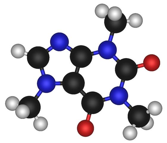 File:Caffeine Molecule.png