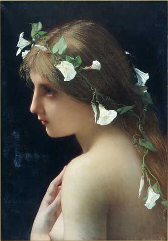 File:Nymph with morning glory flowers.jpg