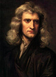 Godfrey Kneller - Newton - 1689