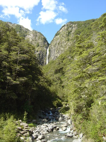 File:Devils Punchbowl Waterfall, New Zealand.jpg