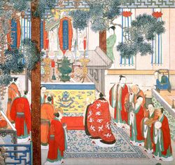 Daoist ritual from plum