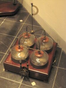 Leidse flessen Museum Boerhave december 2003
