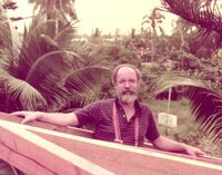 Dan Dennett in Tahiti