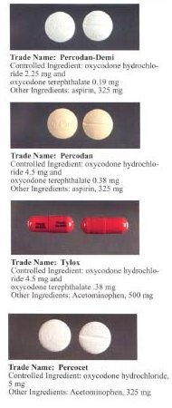 Oxycodone varieties