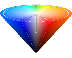 HSV cone