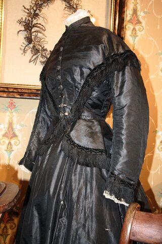 File:Mourning dress, 19th century.JPG