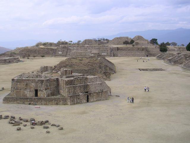 File:Monte Albán archeological site, Oaxaca.jpg