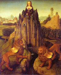 Hans-Memling-allegory-chastity