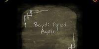 Boyd: Fired Again!